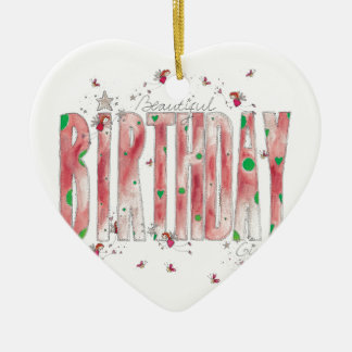 Beautiful Birthday Girl Christmas Ornament