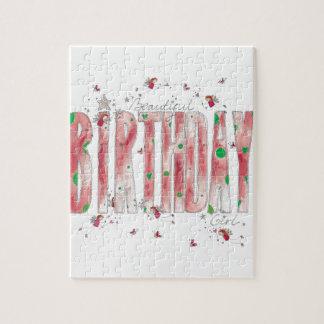 Beautiful Birthday Girl Jigsaw Puzzle