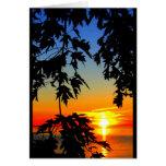 Beautiful Birthday Sunrise To Sunset Greeting Card