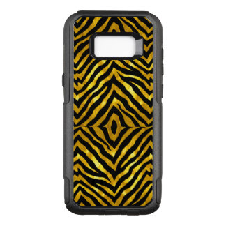 Beautiful Black and Gold Zebra Print Galaxy s8+ OtterBox Commuter Samsung Galaxy S8+ Case