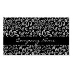 Beautiful black and white Business Card