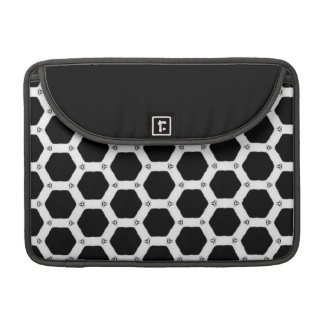Beautiful Black And White Decorative Sleeve For MacBooks
