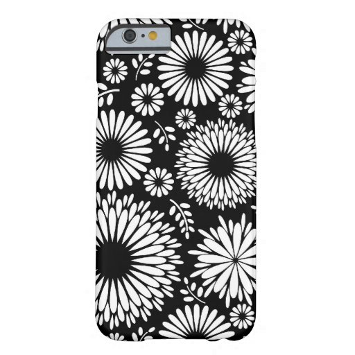 Beautiful black and white iPhone 6 case