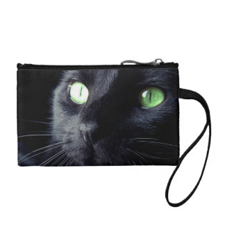 Beautiful Black Cat Coin Purse