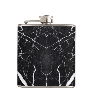 Beautiful black marble flasks