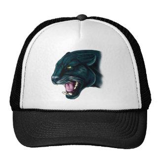 Beautiful Black Panther Mesh Hat
