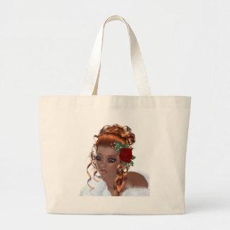 Beautiful Black Woman Tote Bags
