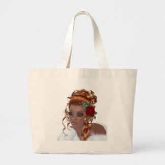 Beautiful Black Woman Tote Bags