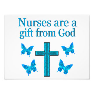 BEAUTIFUL BLESSED NURSE DESIGN PHOTOGRAPH