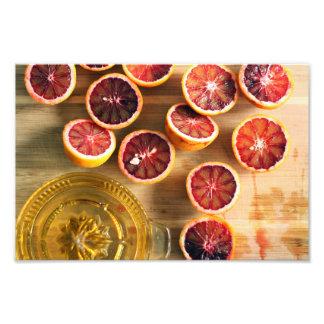 Beautiful Blood Oranges Photo Print