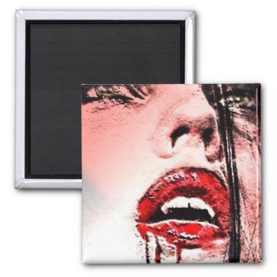 Beautiful Bloody Vampire Magnet