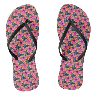 Beautiful Bloom flip flops
