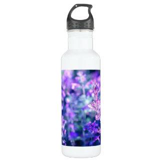 Beautiful blooming salvia 710 ml water bottle