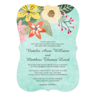 Browse the Floral Wedding Invitations Collection and personalise by colour, design or style.