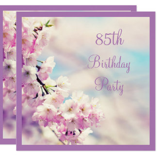 Beautiful Blossom 85th Birthday Card