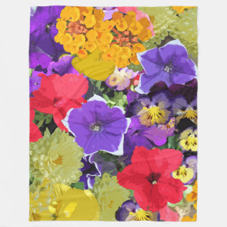 BEAUTIFUL BLOSSOMS FLEECE BLANKET