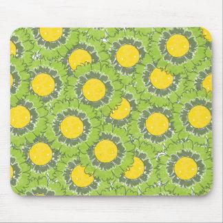 Beautiful Blossoms Mousepad - Green