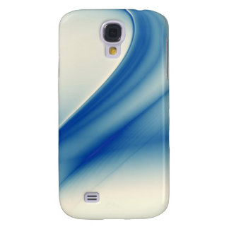 Beautiful blue abstract galaxy s4 cover