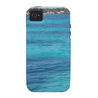 Beautiful Blue Beach iPhone 4 Covers