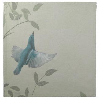 Beautiful Blue Bird Napkins