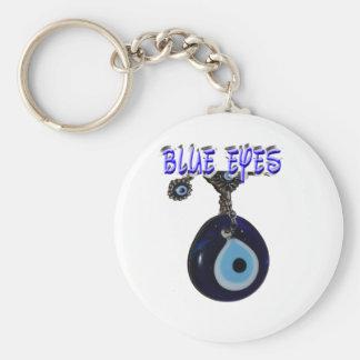 Beautiful Blue Eyes Key Chain