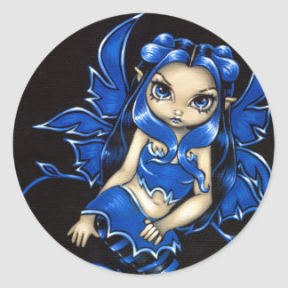 """Beautiful Blue Fairy"" Sticker"