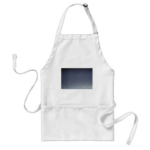 Beautiful Blue Leather Aprons