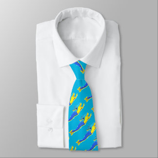 beautiful blue mermaids any color tie
