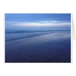 Beautiful Blue Ocean Greeting Card