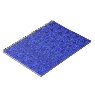 Beautiful Blue Pattern Notebook