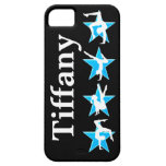 BEAUTIFUL BLUE PERSONALIZED GYMNASTICS IPHONE CASE iPhone 5 COVER