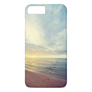 Beautiful Blue Sky Beach Sunset | Phone Case