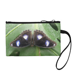 Beautiful Blue Spotted Butterfly Bagettes Bag