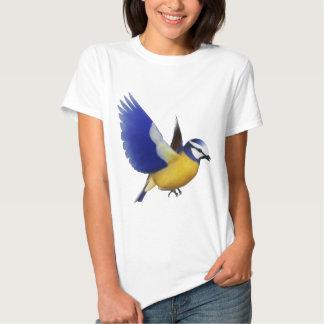 Beautiful Blue Tit Bird T-shirts
