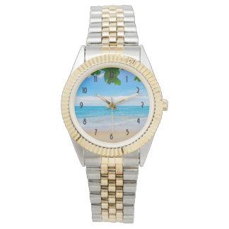 Beautiful Blue Tropical Beach Watch