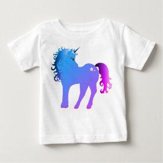 Beautiful Blue Unicorn Baby T-Shirt