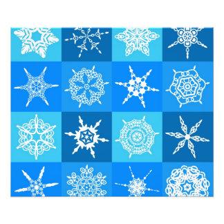 Beautiful blue white Abstract Art Ice Cubes Photo Art