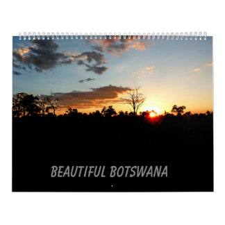 BEAUTIFUL BOTSWANA CALENDAR