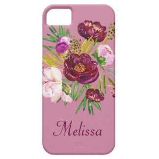 Beautiful Bouquet Name Barely There iPhone 5 Case