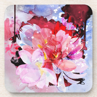 Beautiful bouquet of flowers coaster