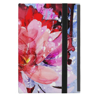 Beautiful bouquet of flowers cover for iPad mini