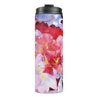 Beautiful bouquet of flowers thermal tumbler