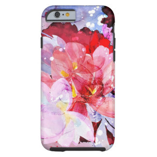 Beautiful bouquet of flowers tough iPhone 6 case
