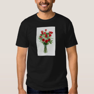 Beautiful Bouquet of Red Roses Shirt