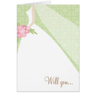 Beautiful Bride - Greeting Card