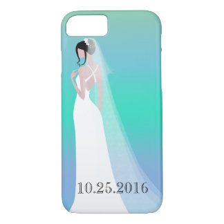 Beautiful Bride Wedding Day iPhone 8/7 Case