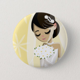 Beautiful Brides 6 Cm Round Badge