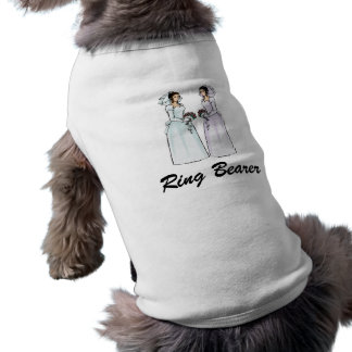 Beautiful Brides in Love Dog T-shirt