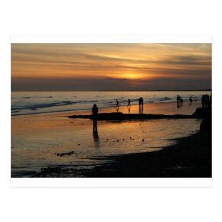 Beautiful Brighton Sunet Beach Post Cards