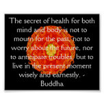 Beautiful Buddhist Quote with Vibrant Mandela Posters